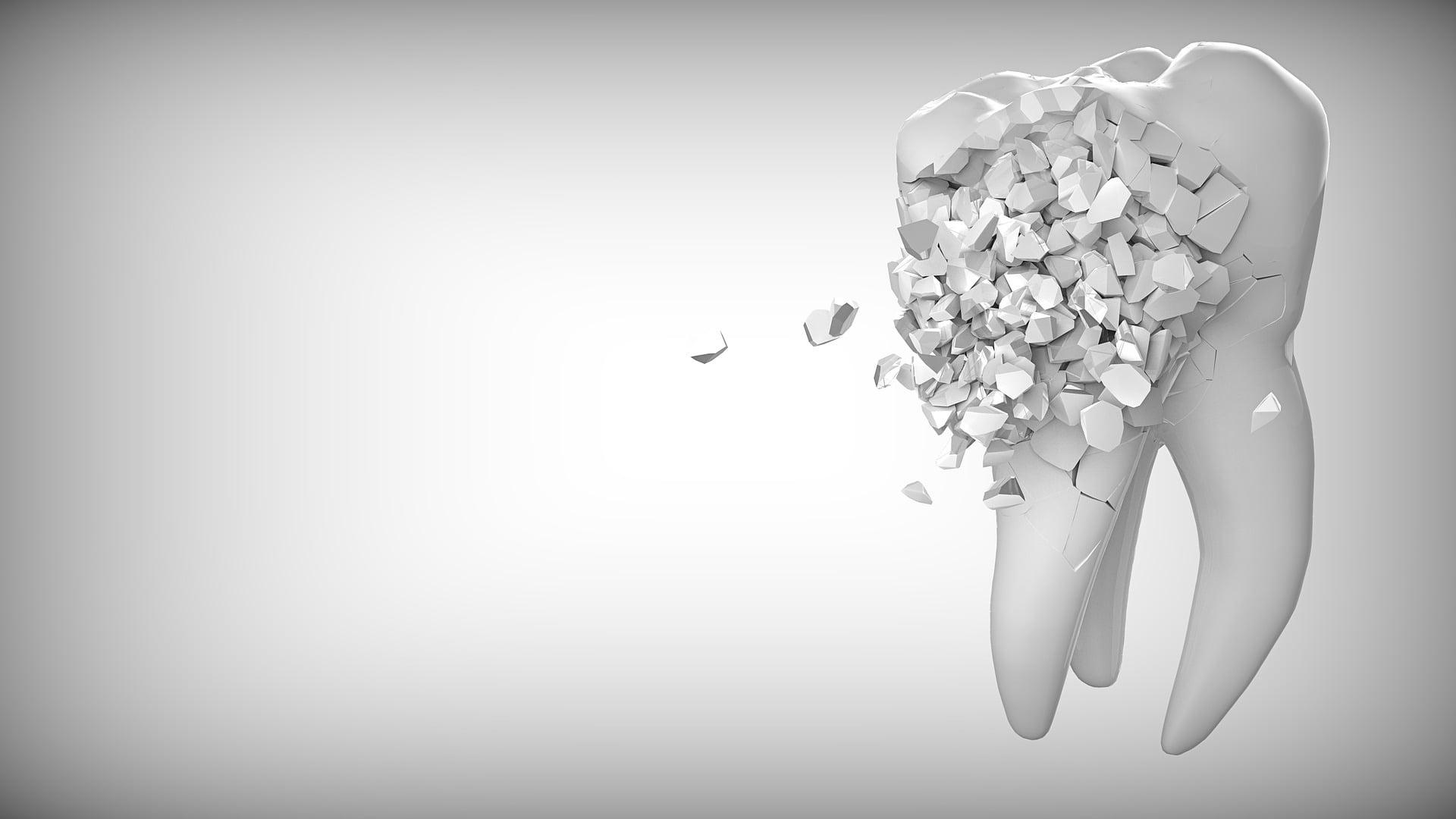 rozwój próchnicy zębów